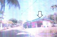 บ้านเดี่ยวหลุดจำนอง ธ.ธนาคารอาคารสงเคราะห์ บุรีรัมย์ เมืองบุรีรัมย์ บ้านบัว